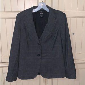 Style & Co Dark Gray Stretch Blazer